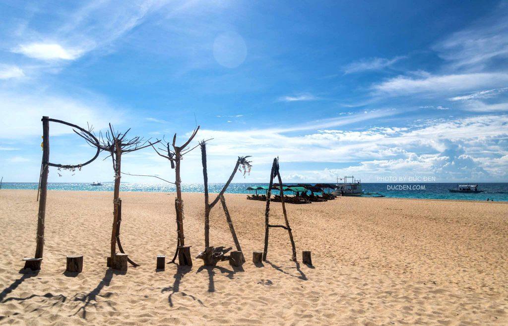 Điểm chụp ảnh nổi tiếng ở PUKA - Kinh nghiệm du lịch Boracay của Đức Đen