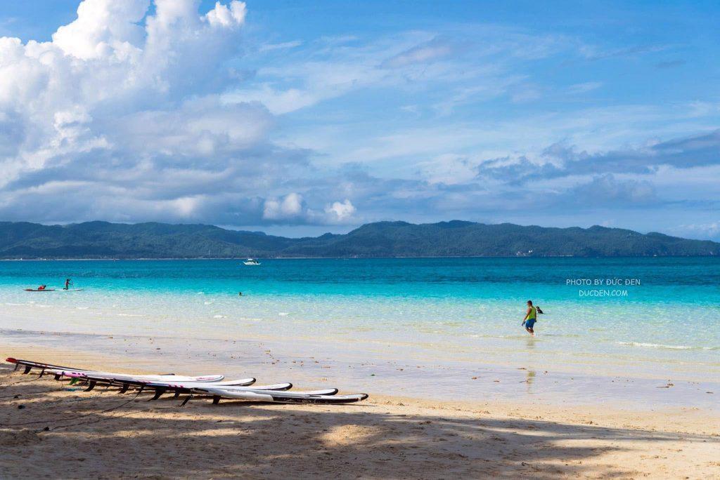 Điểm thuê SUP - Kinh nghiệm du lịch Boracay của Đức Đen