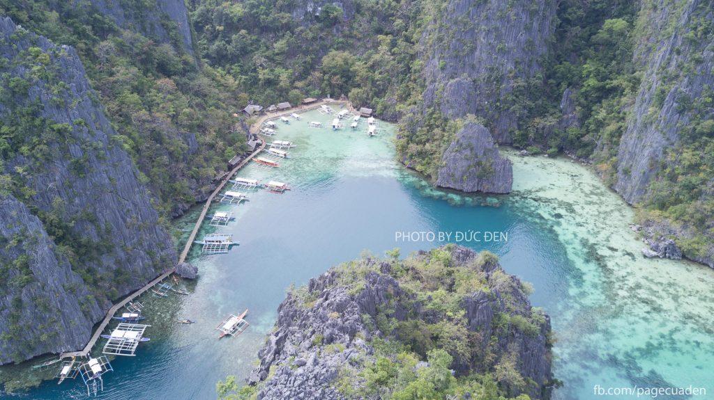 Tiếp tục cảnh lối vào hồ Kayangan - Du lịch Palawan - Phần II: Coron - Đức Đen