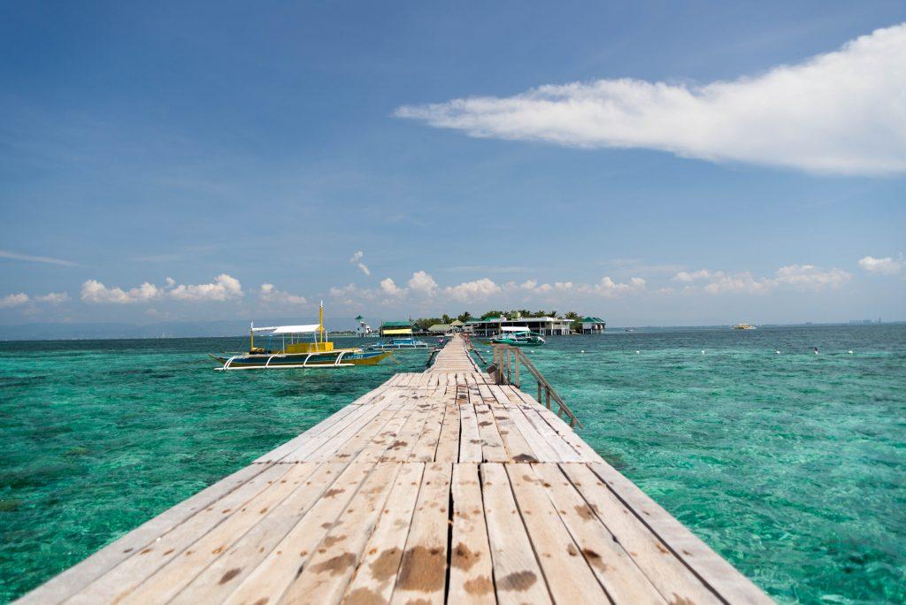 Cầu cảng Nanusuan đẹp như thiên đường - Du lịch Cebu | ducden.com