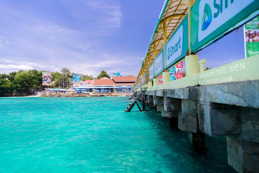 Bến cảng của đảo Boracay - Kinh nghiệm du lịch Boracay của Đức Đen