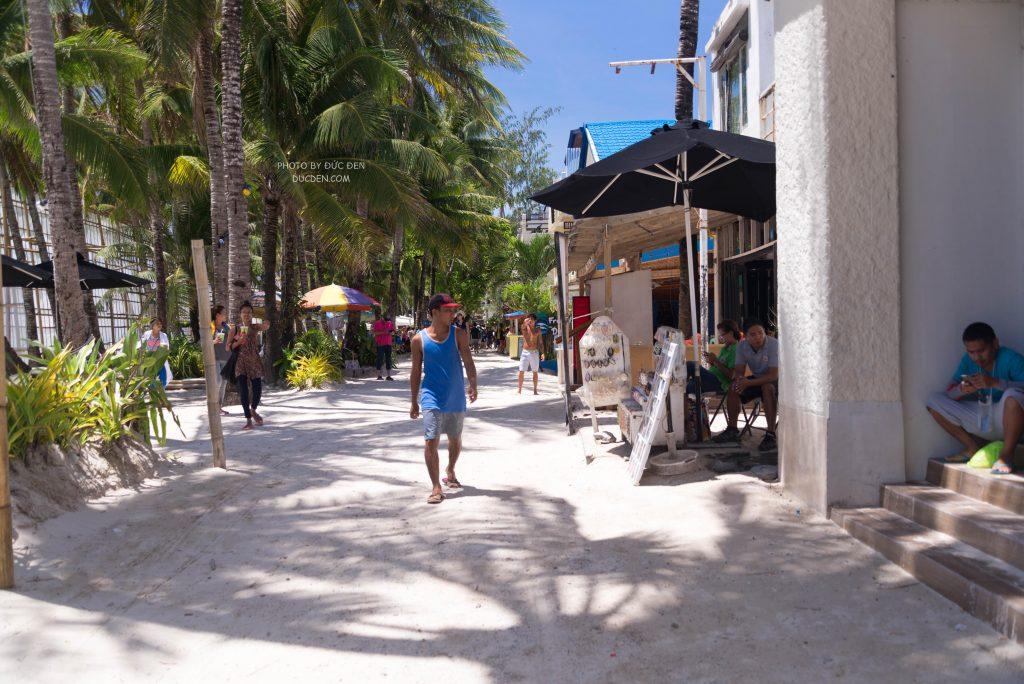 Vừa đến cái là tôi phải đi dạo ngay - Kinh nghiệm du lịch Boracay của Đức Đen