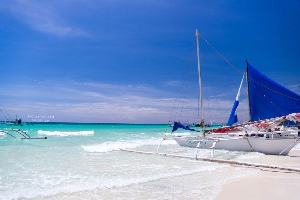 Biển Phú Quốc Nha Trang mình cũng rất xanh mà tôi thấy chưa là gì so với Boracay - Kinh nghiệm du lịch Boracay của Đức Đen
