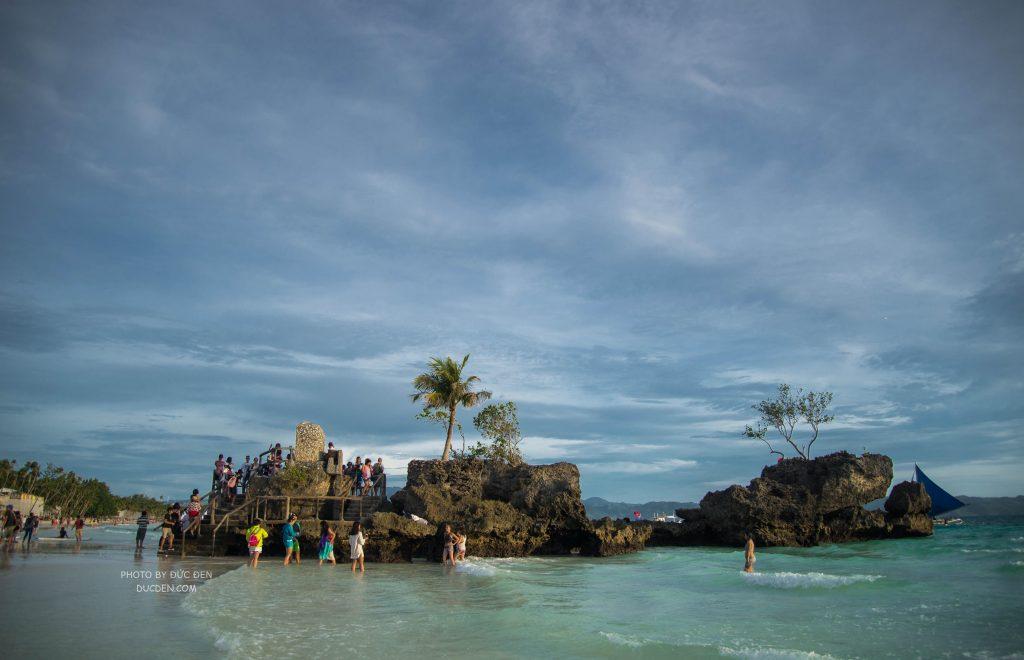 Gần tối trời bắt đầu âm u - Kinh nghiệm du lịch Boracay của Đức Đen