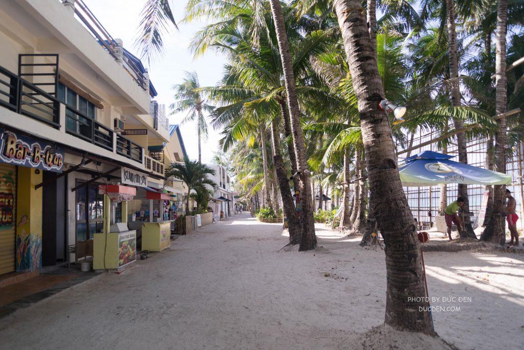 Hút hồn vì đẹp nên mặc dù dài nhưng đi bộ tẹo là hết - Kinh nghiệm du lịch Boracay của Đức Đen