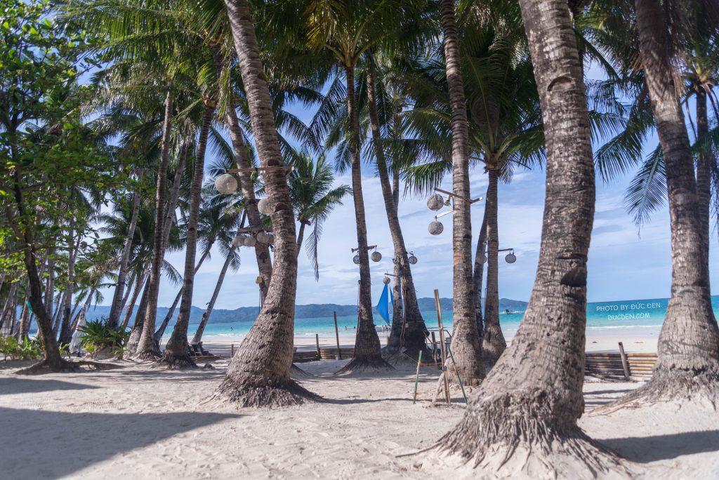 Cát trắng mịn cực - Kinh nghiệm du lịch Boracay của Đức Đen
