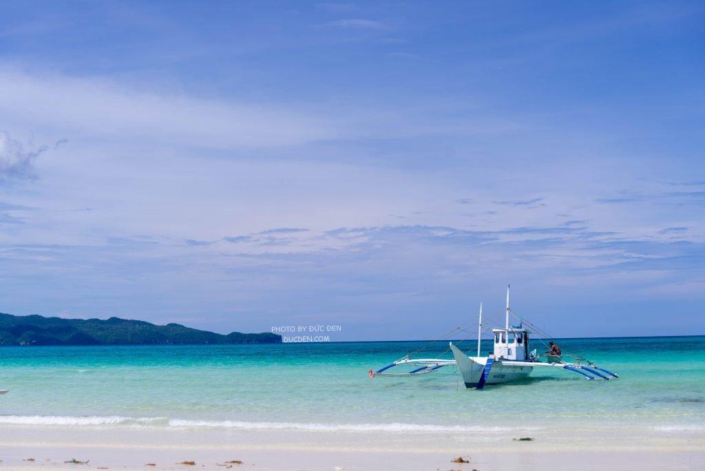 Sáng ra chờ để đi island hopping - Kinh nghiệm du lịch Boracay của Đức Đen