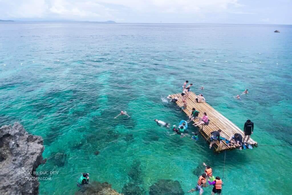 Biển xanhhhh - Kinh nghiệm du lịch Boracay của Đức Đen