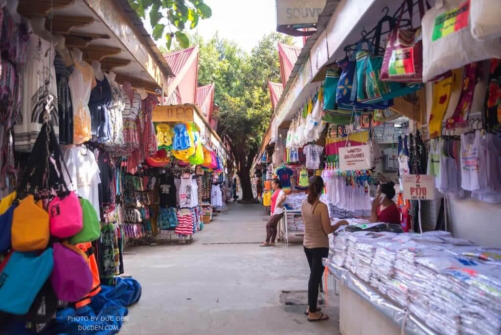 Một góc chợ gần D Talipapa - Kinh nghiệm du lịch Boracay của Đức Đen