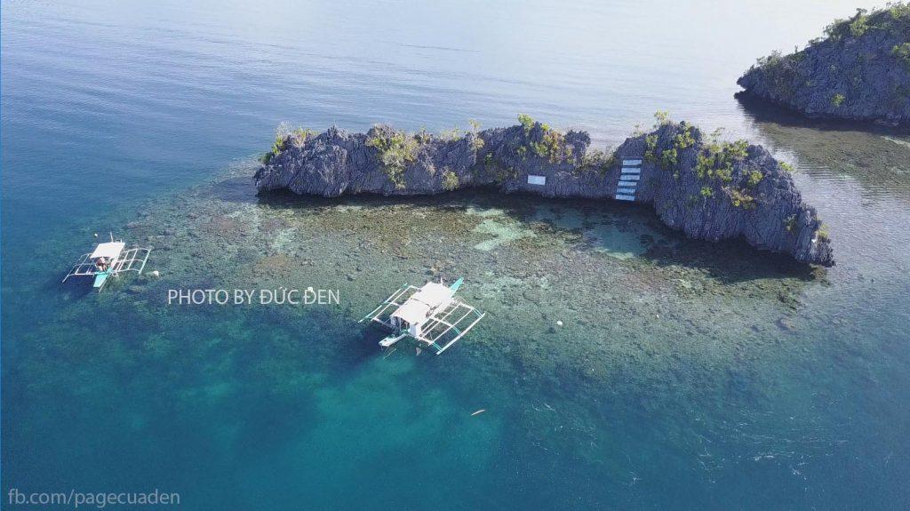 Pecados cũng là điểm lặn snorkeling cực đẹp nhé - Du lịch Palawan - Phần II: Coron - Đức Đen