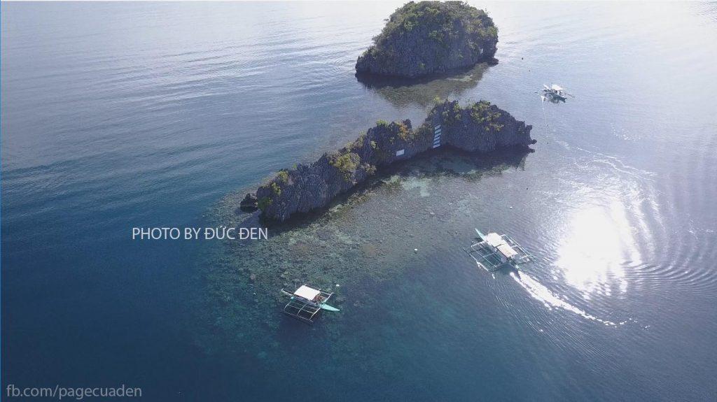 Snorkeling ở Pecados - Du lịch Palawan - Phần II: Coron - Đức Đen