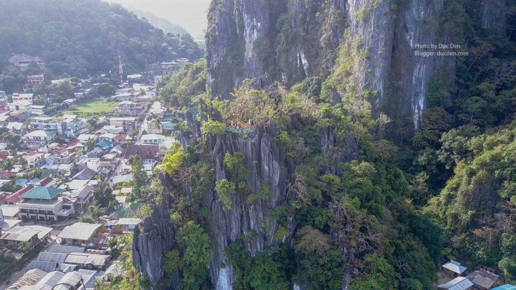 Chỗ kia gọi là Canopy Walk - Điểm để khác du lịch ngắm nhìn toàn thị trấn El Nido từ trên cao