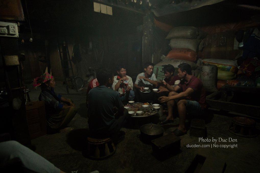 Bữa tối của tôi ở nhà một anh dân tộc Mông