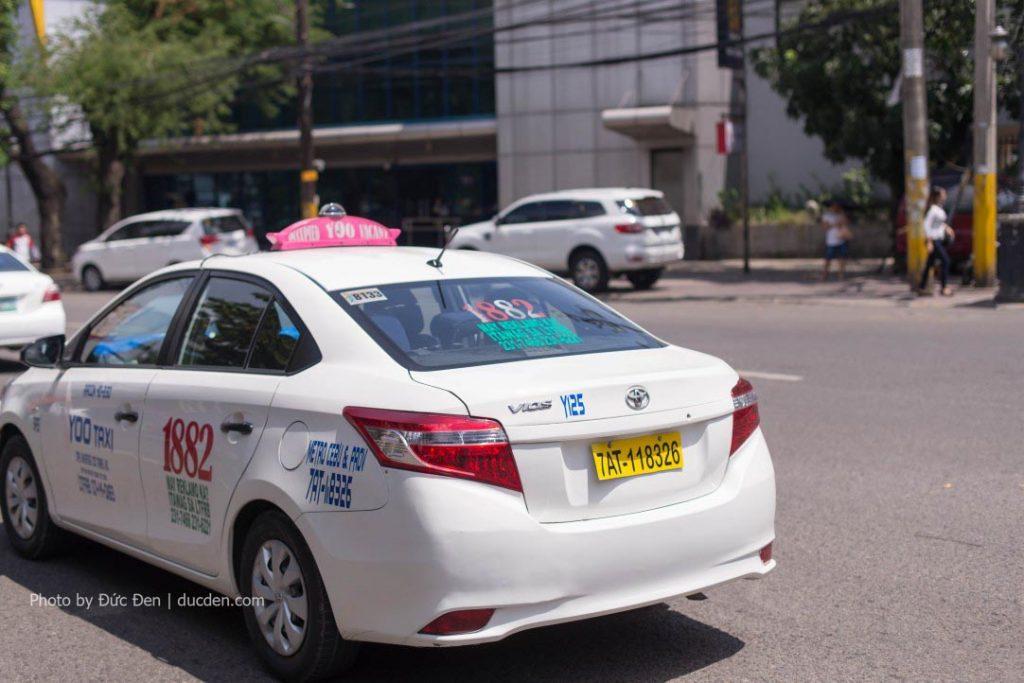 Taxi không phải là phương tiện nên sử dụng ở Philippines