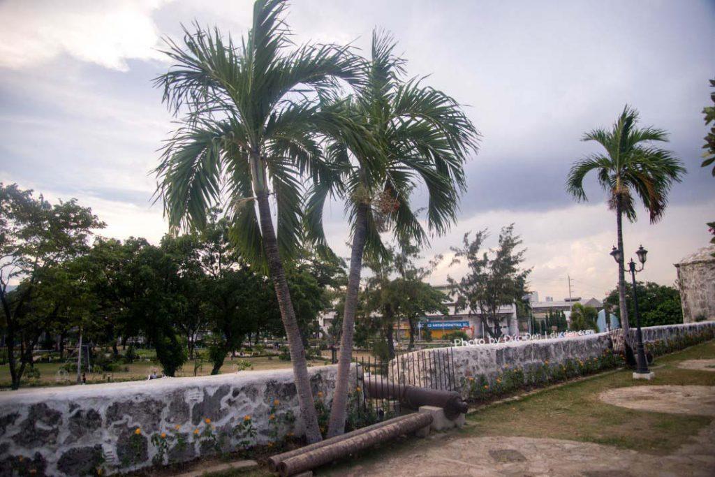 Trên pháo đài San Pedro trên đường A. Pigafetta ở thành phố Cebu