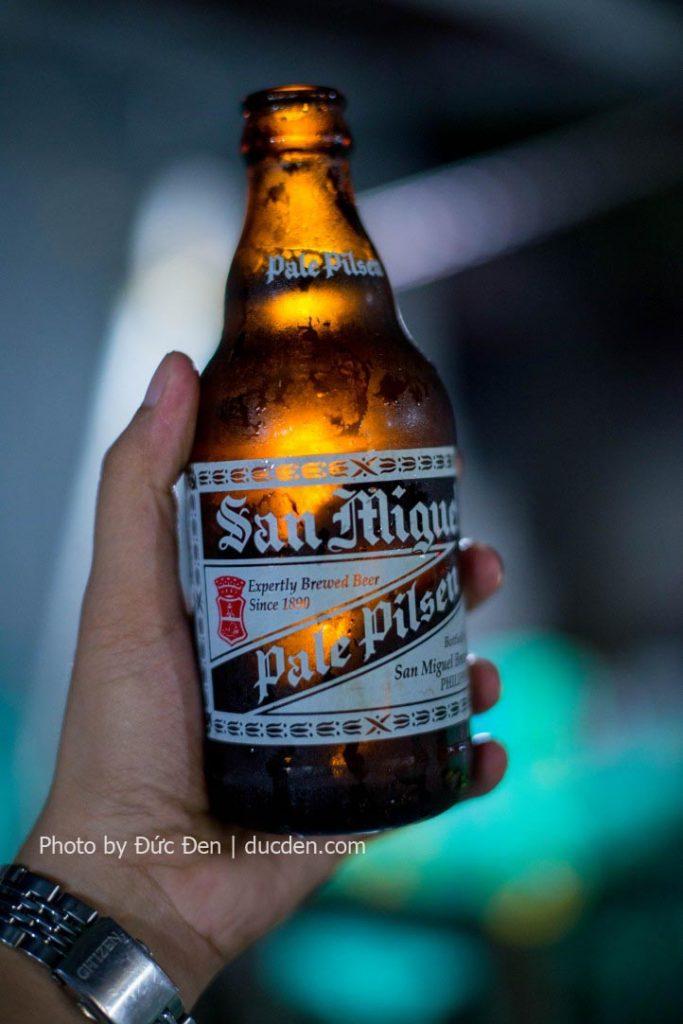 Bia San Miguel và Red Horse là 2 loại bia phải thử khi đến Philippines