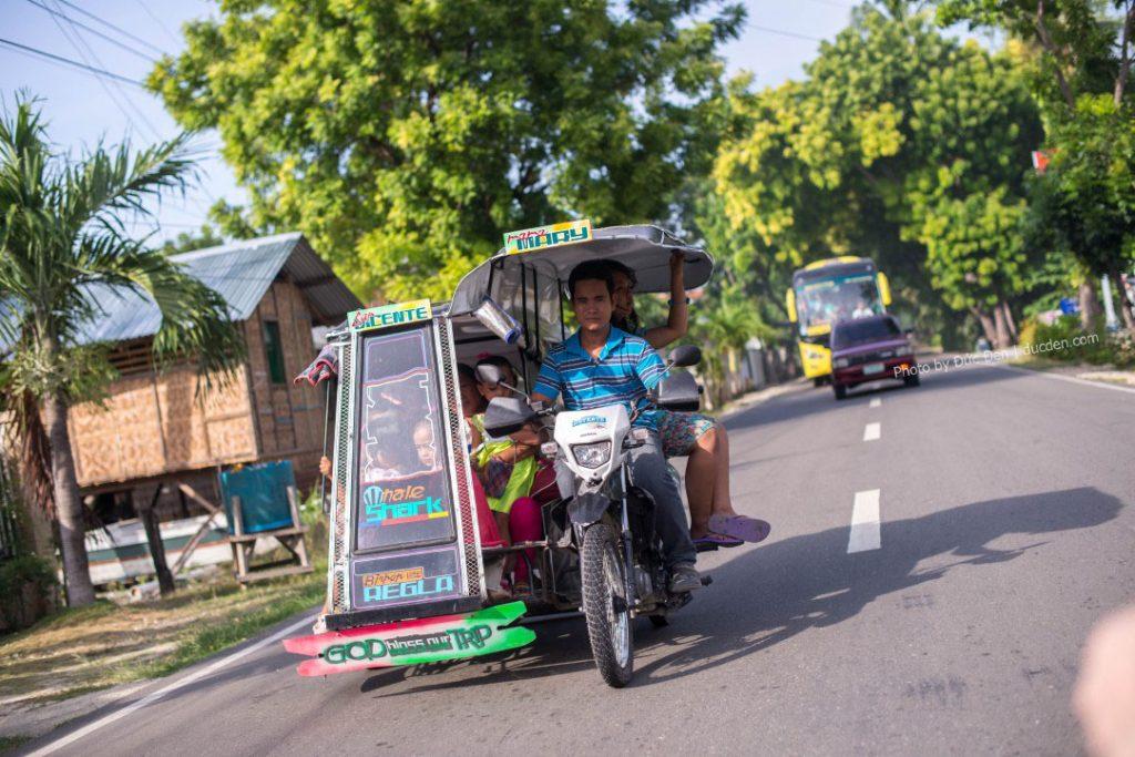 Tricycle là phương tiện di chuyển phổ biến nhất Philippines- Du lịch tự túc Cebu