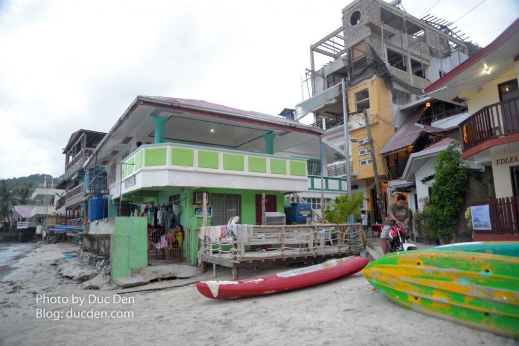 Một góc cuối thị trấn El Nido gần cảng - Nhà Joanna mua tour rẻ ở đoạn này | Thiên đường đảo El Nido