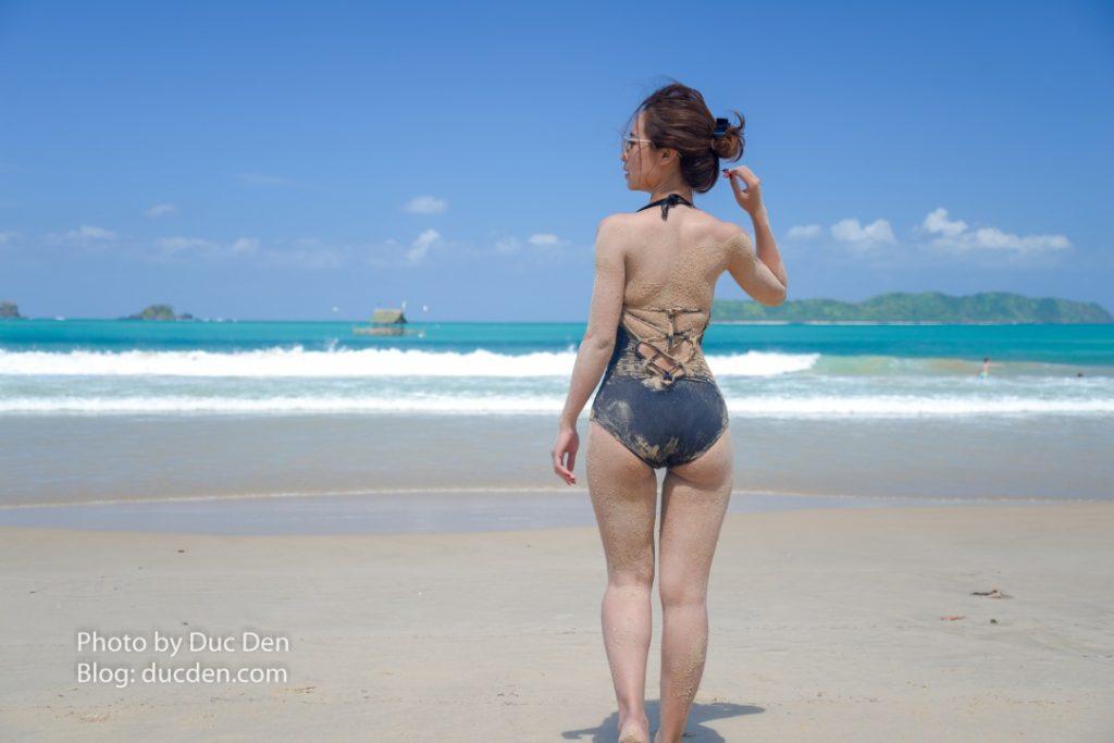 Tôi có thể nằm chơi ở đây cả tuần cũng không chán | Nacpan Beach - El Nido