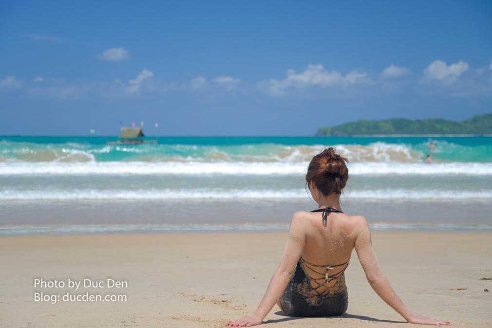 Hãy dành 1 ngày để thư giãn ở biển Nacpan nhé