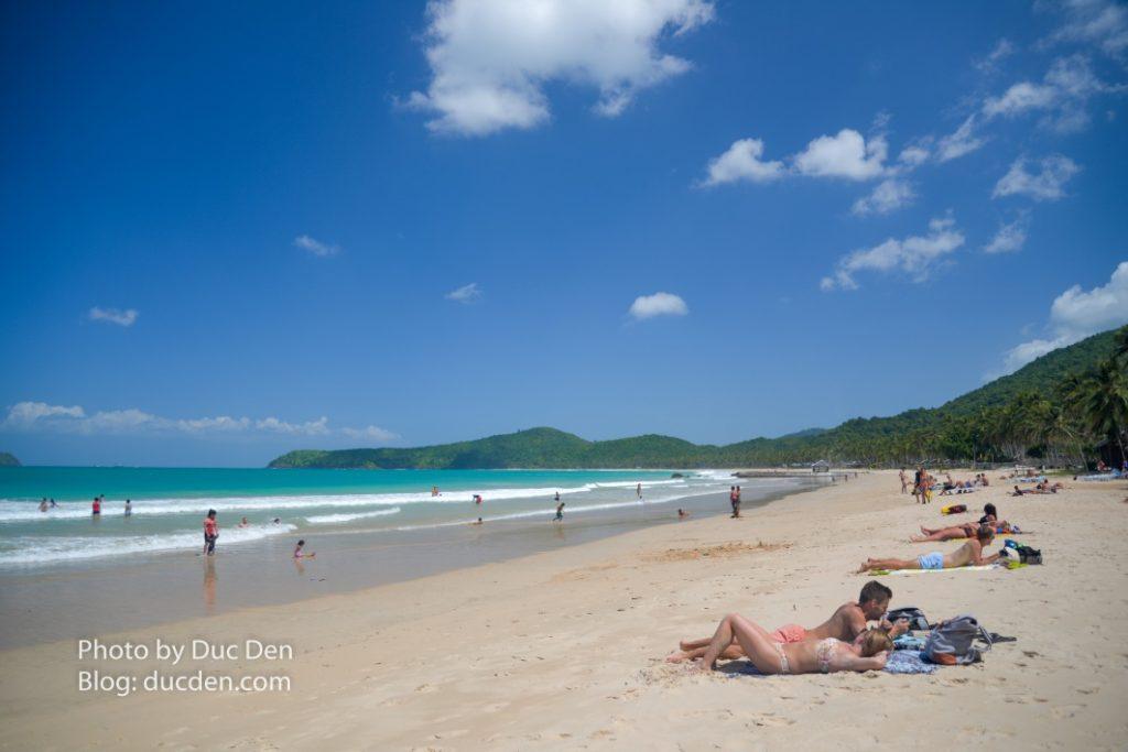 Bãi biển Nacpan đẹp như thiên đường với bãi cát trải dài hàng cây số | Hướng dẫn du lịch El Nido tự túc từ A - Z