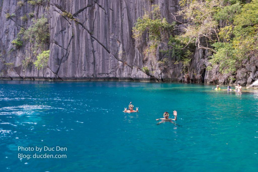 Xin chào cả nhà từ hồ Bardacuda - Du lịch Coron