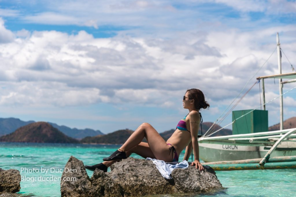 Chill out sau khi ăn trưa ở Banol Beach