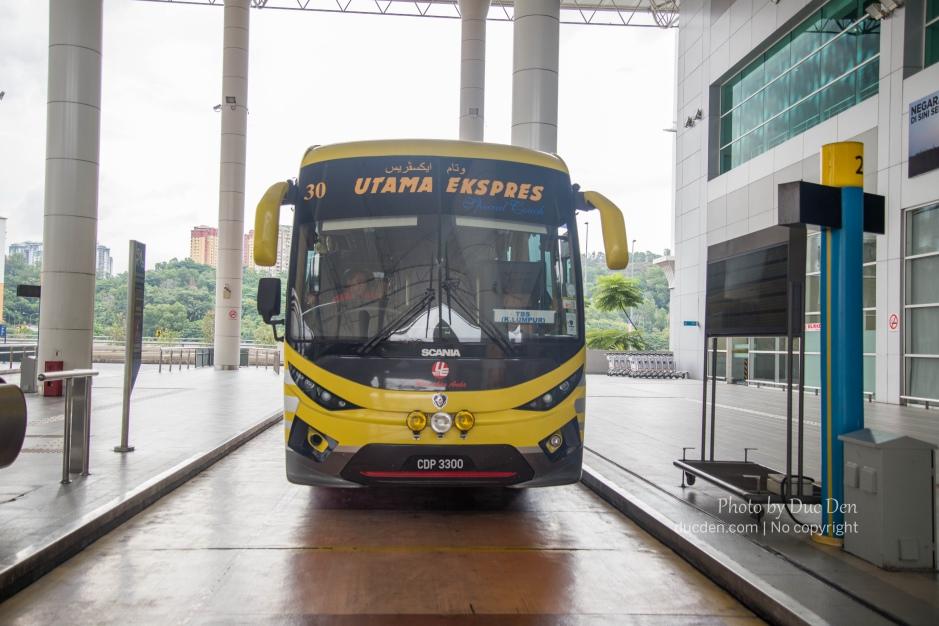 Bến xe bus ở Kuala Lumpur đi Cameron Highland