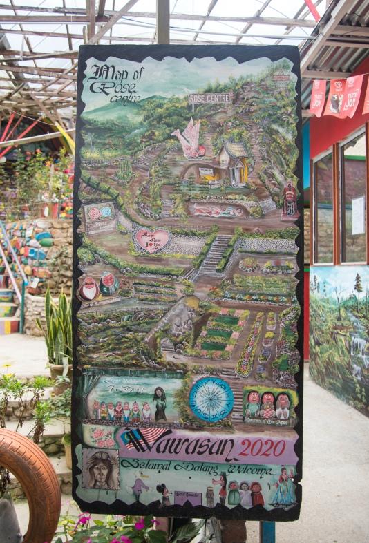 Bản đồ Thung lũng hoa hồng   Du lịch Cameron Highland