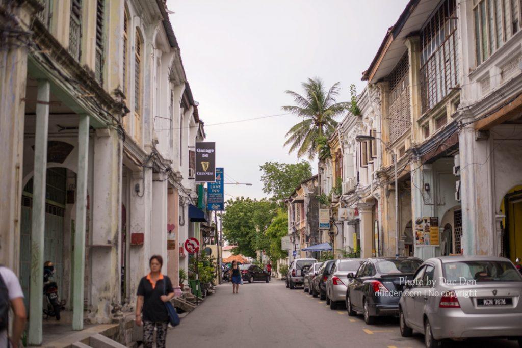 Cuối phố Love Lane cổ kính ở Geogre Town | Du lịch Penang