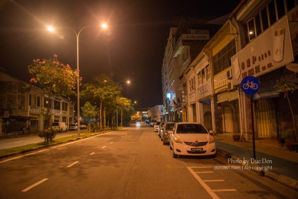 Geogre Town về đêm