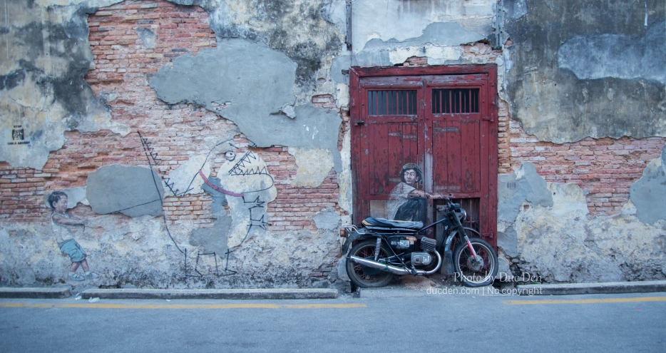 Streetart nổi tiếng ở Penang | Du lịch Penang