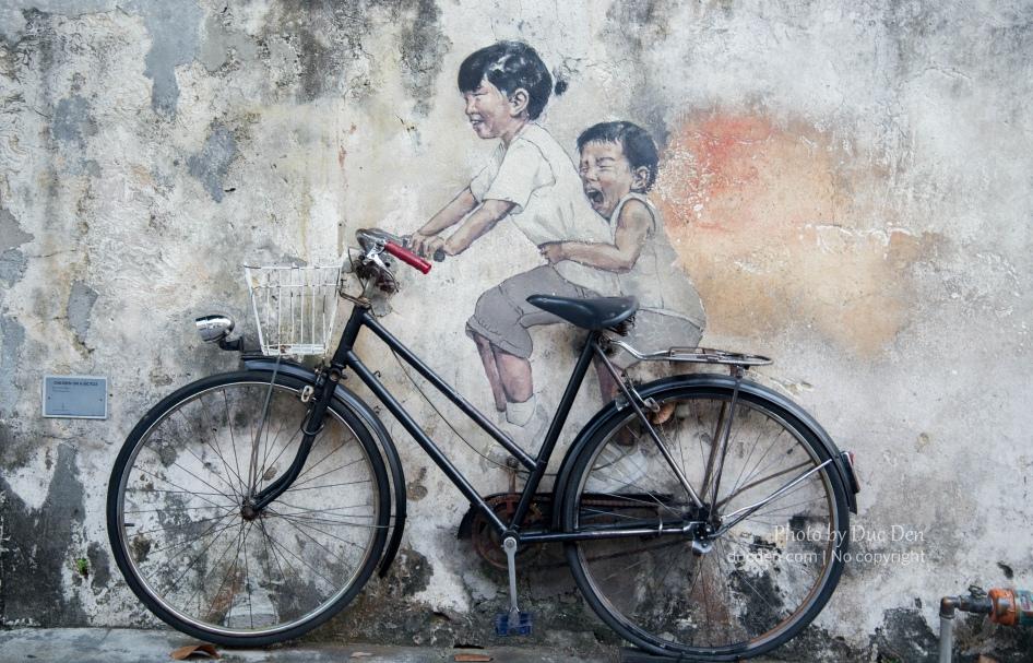 Nhớ về tuổi thơ ghê :)) | Penang Streetart