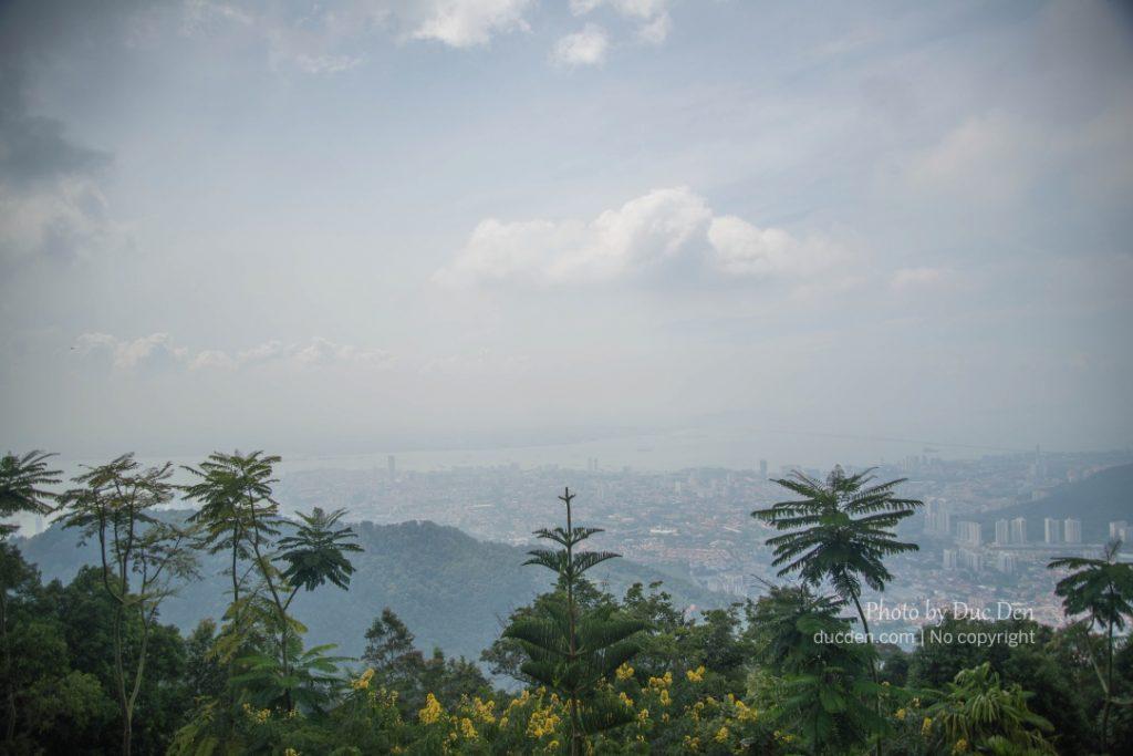 Từ trên Penang Hill nhìn xuống | Du lịch Penang