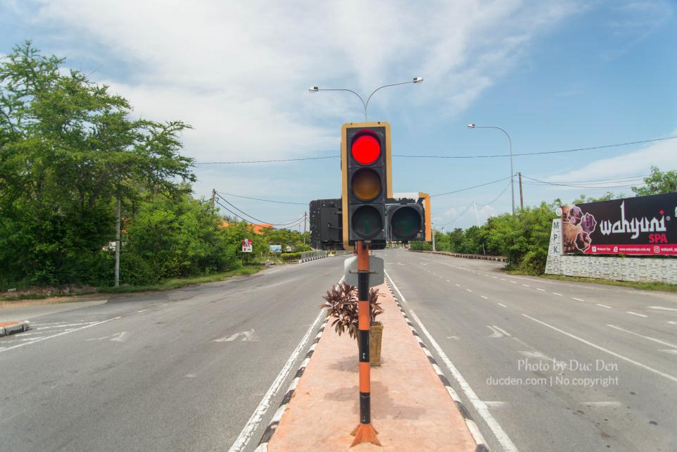 Một góc đường ở đoạn bắt tàu sang đảo Langkawi - Du lịch Langkawi tự túc