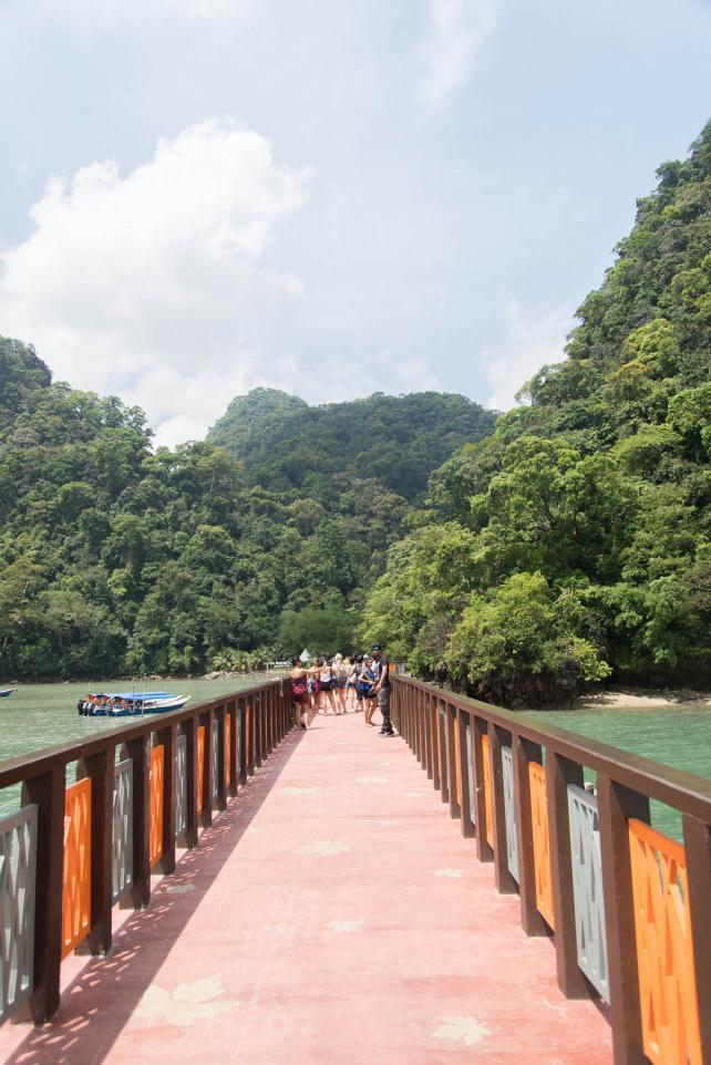 Cầu cảng đảo Pulau Dayang Bunting - Du lịch Langkawi