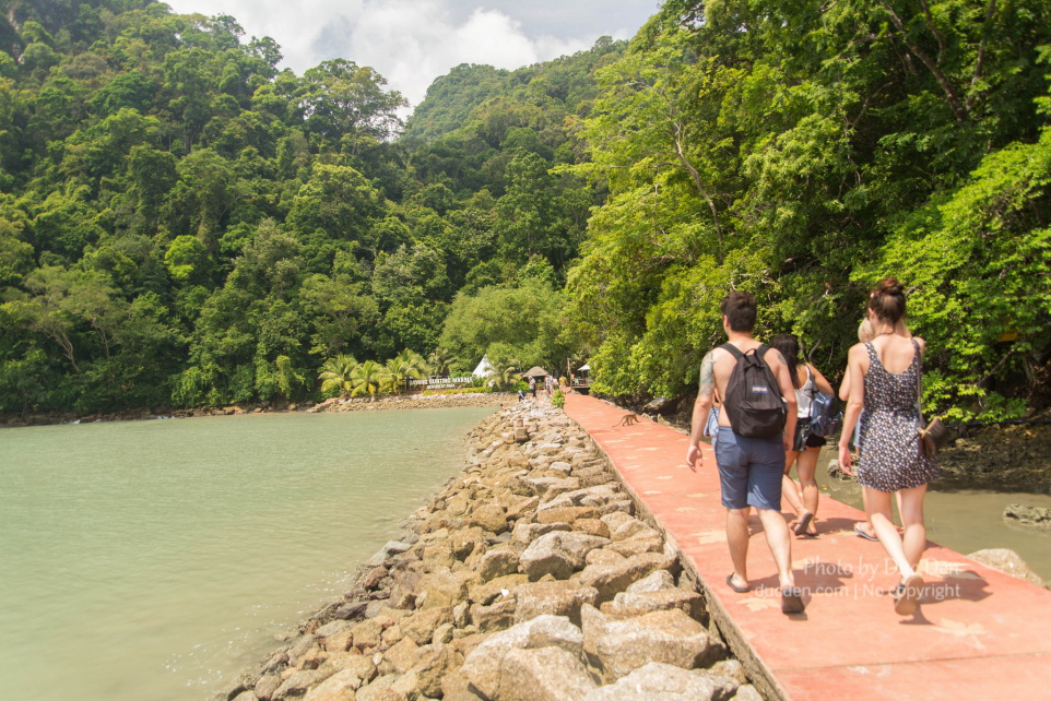 Lối vào đảo Pulau Dayang Bunting | Langkawi