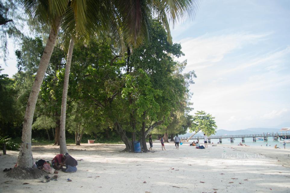 Đảo Wet Rice đẹp nhưng vì tôi đã đi những đảo đẹp hơn nên thấy nó bình thường   Du lịch Langkawi