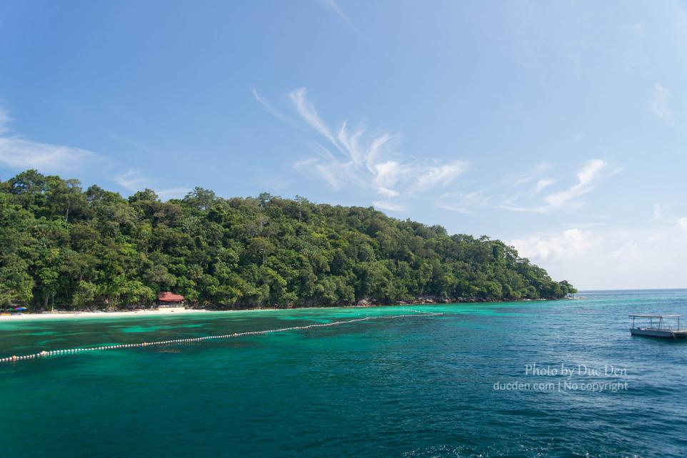 Lối vào Pulau Payar Marine Park | Du lịch Langkawi Đức Đen