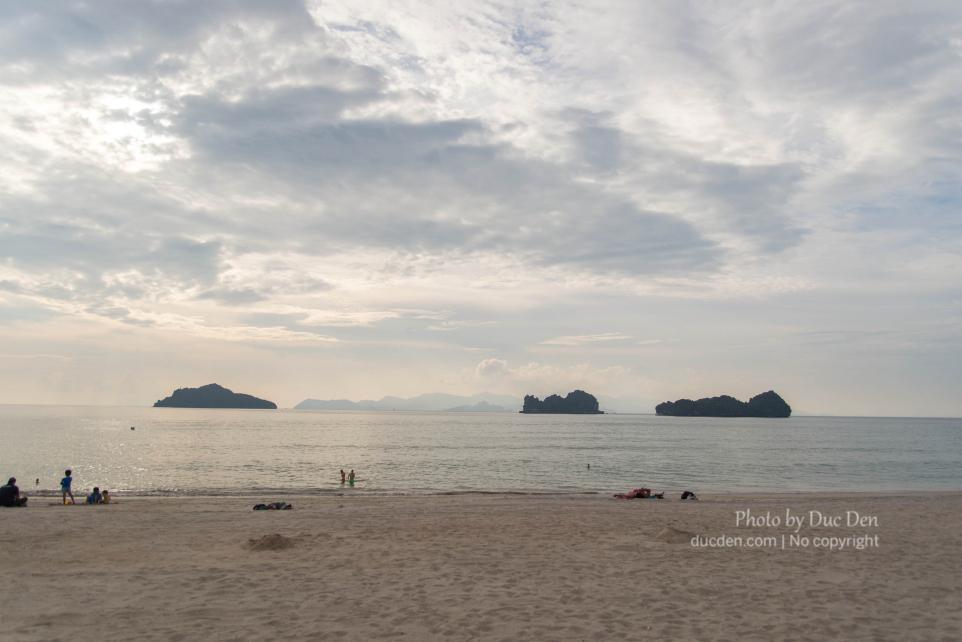 Hoàng hôn ở Tanjung Rhu Beach, Langkawi