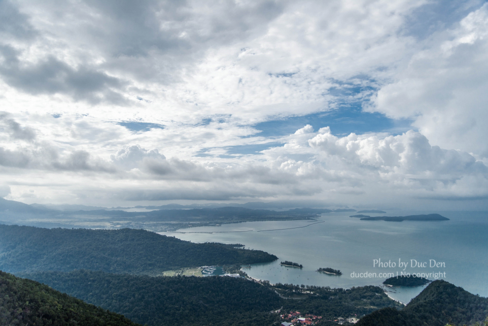 Đảo Langkawi từ trên cao