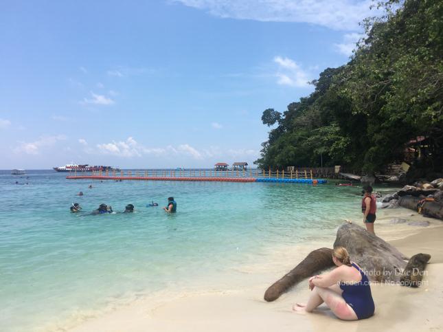 Biển ở Pulau Payar Marine Park trong xanh đẹp lắm | Du lịch Langkawi