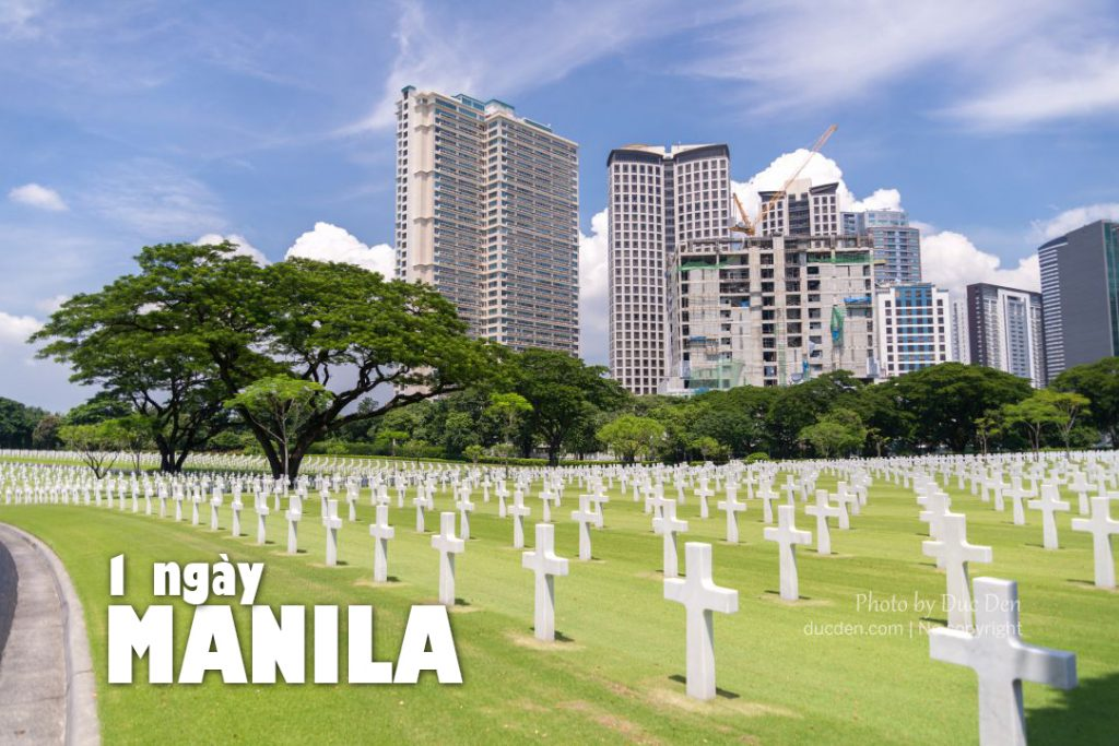 Kinh nghiệm du lịch Manila tự túc | 1 ngày khám phá Manila