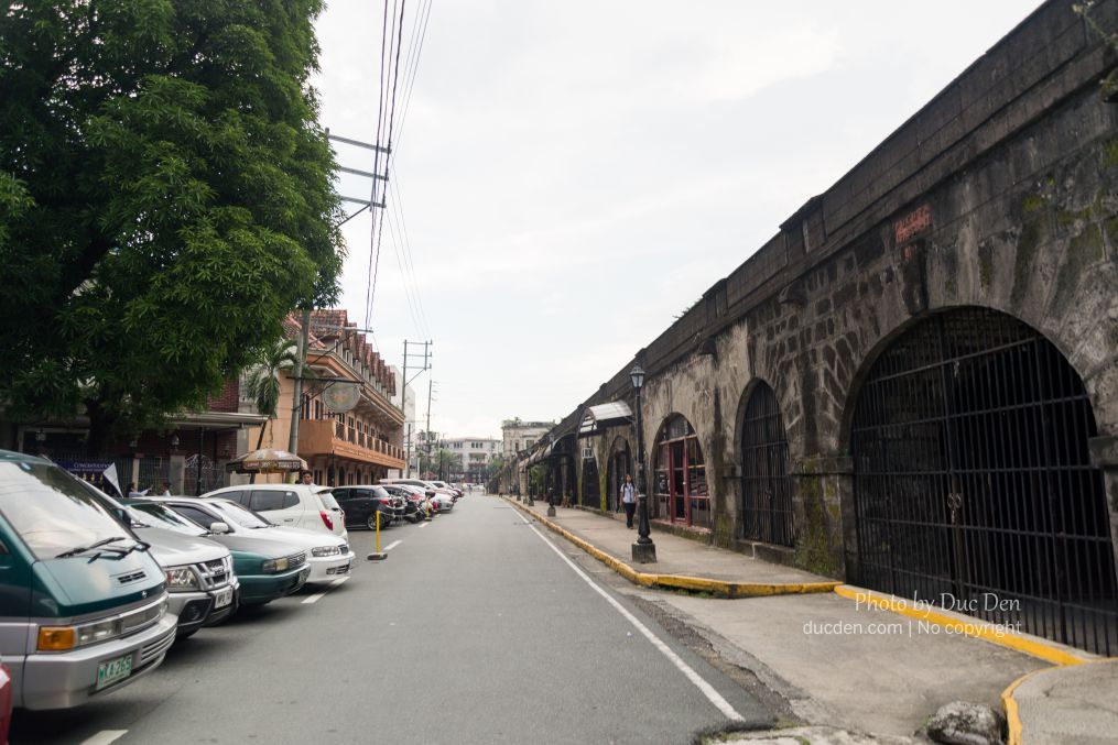 Đường thành cổ Intramorus | Kinh nghiệm du lịch Manila