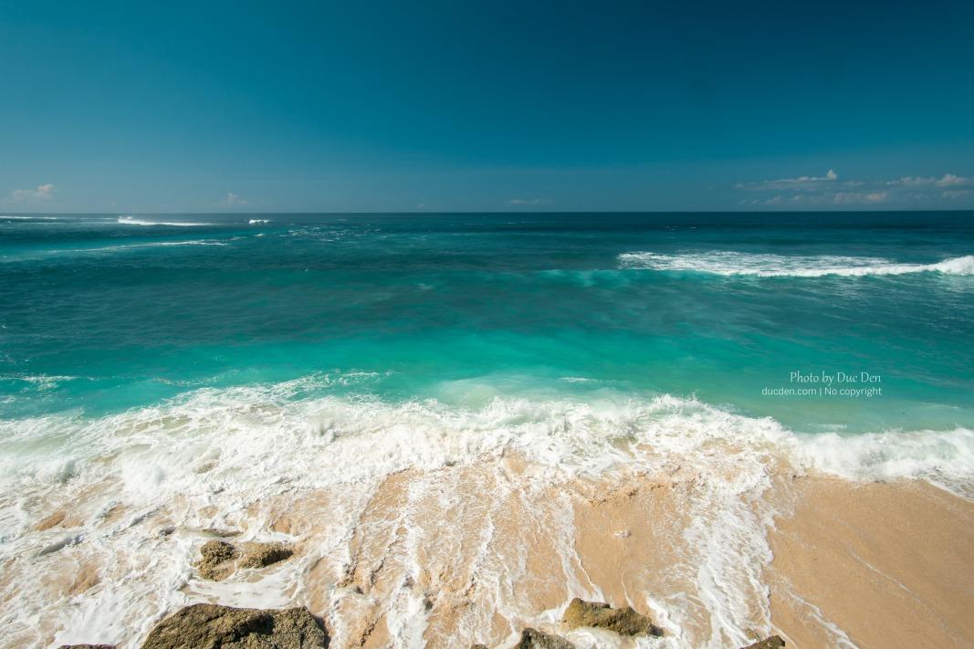 Nước xanh đẹp vãi