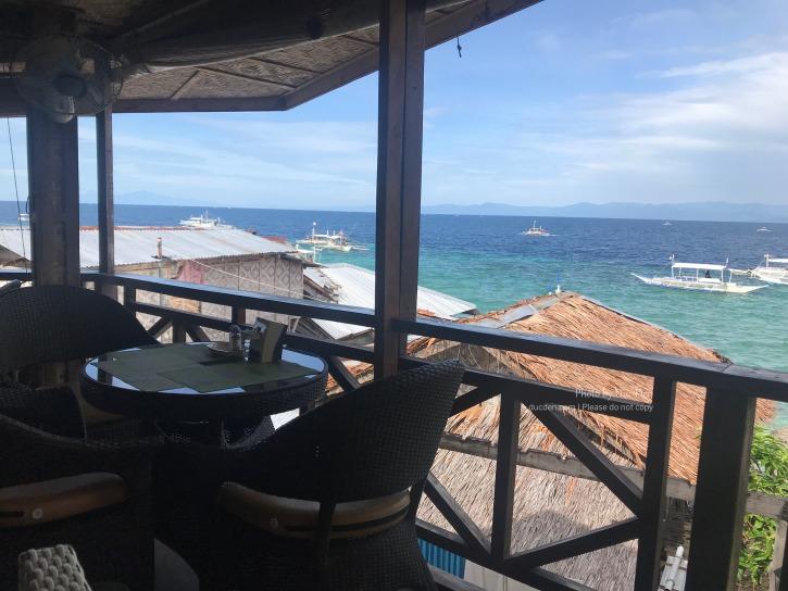 View từ tầng 2 Neptune Diving Resort
