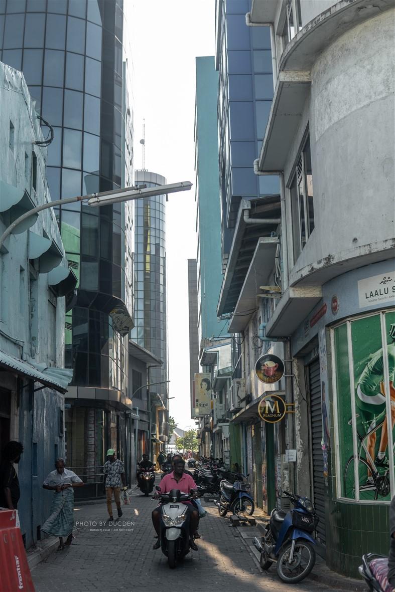 Một góc phố Male