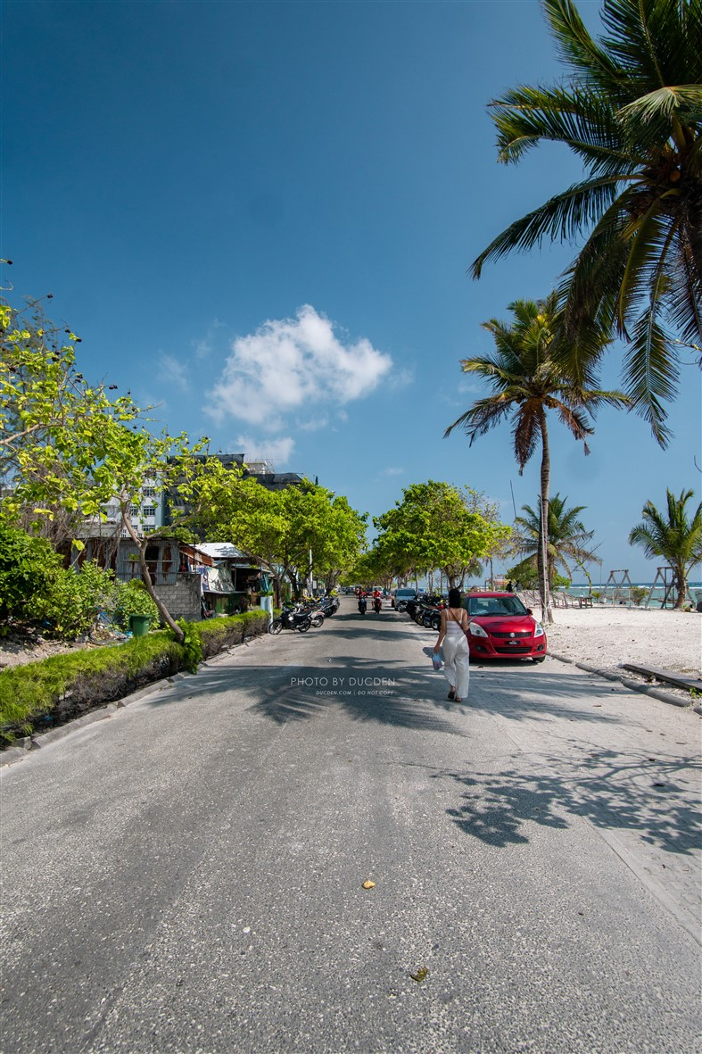 đi lại ở Maldives