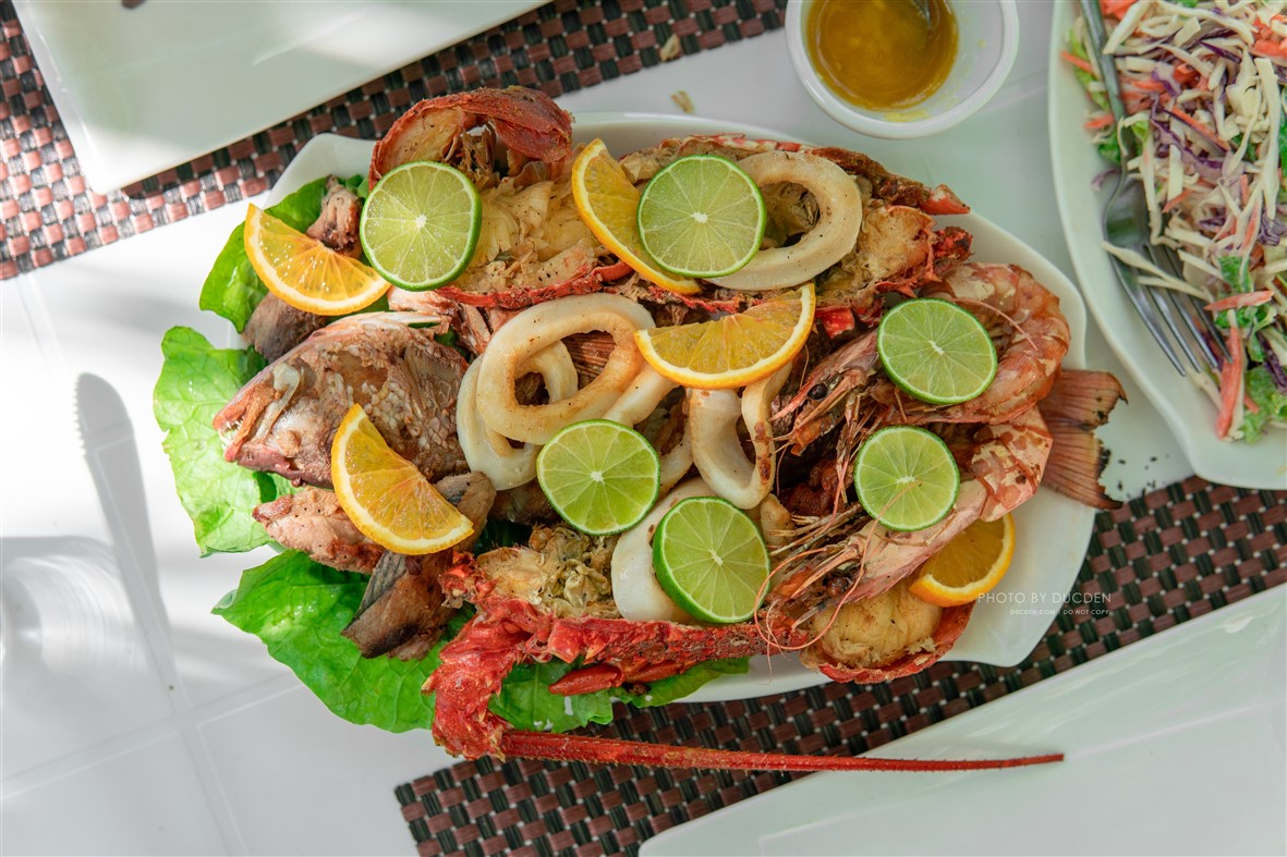 hải sản maldives