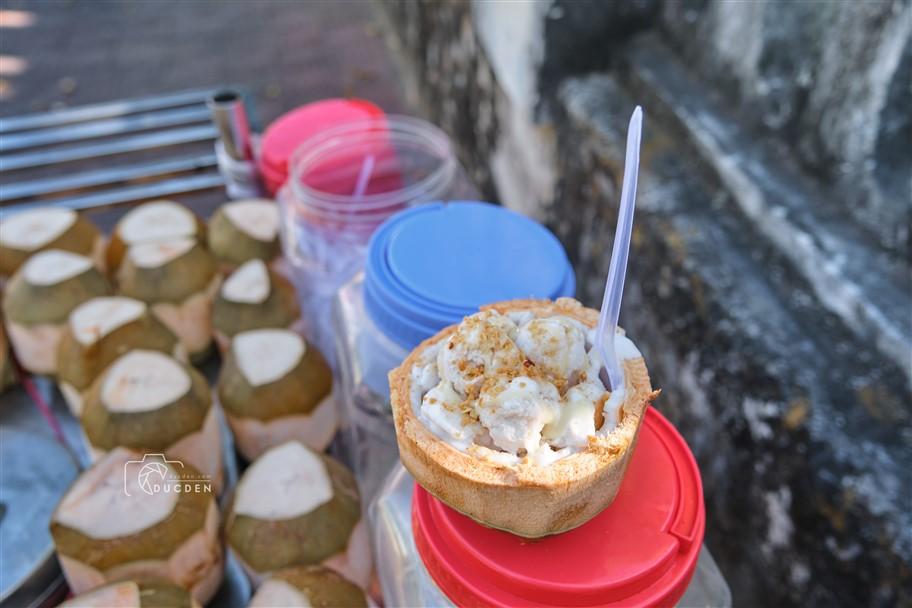 kem dừa côn đảo - đức đen